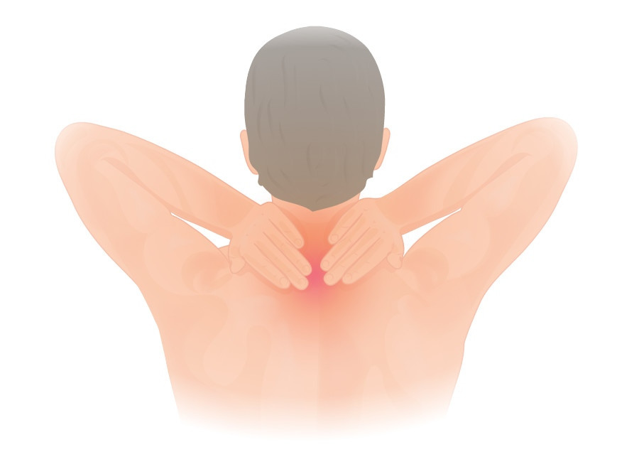 shoulder pain or neck pain